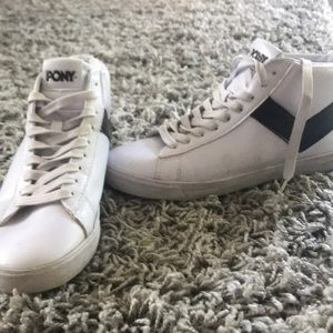 Pony High Top Sneakers